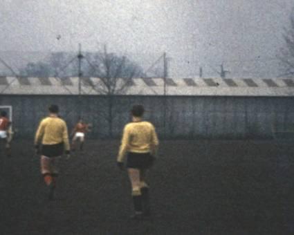 Hermann beim Fußball