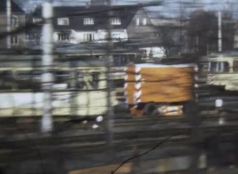 Zugfahrt durchs Rheintal