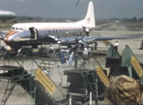 Luftschiff und Flugzeuge