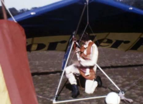 Hanggleiter-Flug vom Mount Apo