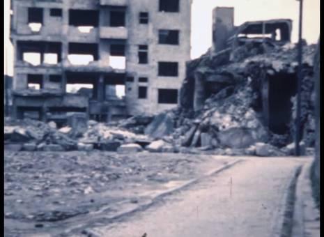 Zerstörungen der Südstadt