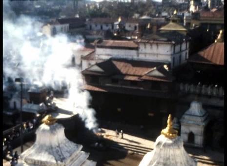 Hinduistische Bestattung