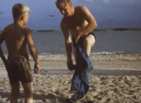 Familientag am Strand