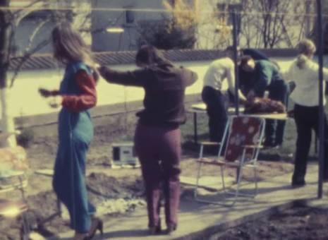 Griechische Gartenfeier Ostern