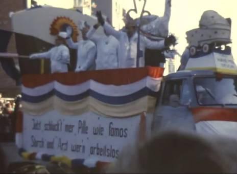 Mainzer Fastnachtszug 1968