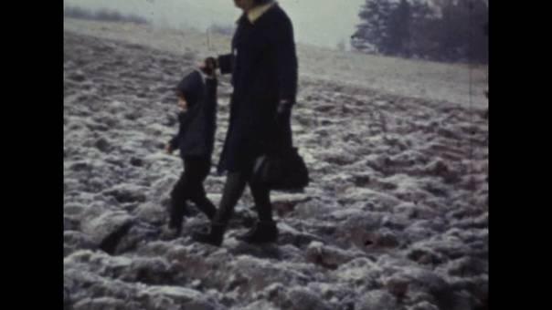 Spaziergang in der Kälte