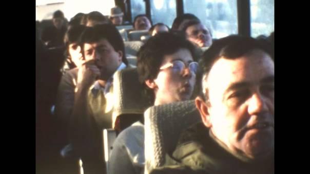 Busreise im Winter