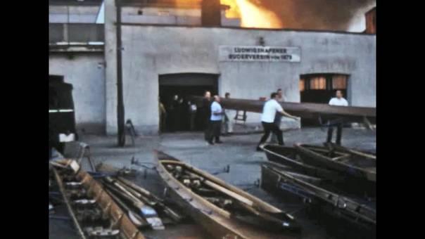 Großbrand in Ludwigshafen