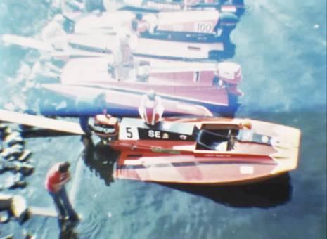 Speedboot-Rennen