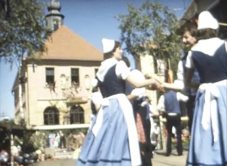 Trachtenfest in Hambach