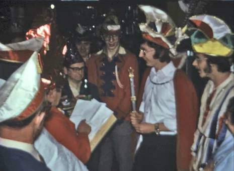 Karneval in der Kneipe