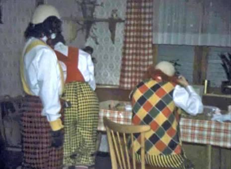 Die Clowns sind bereit