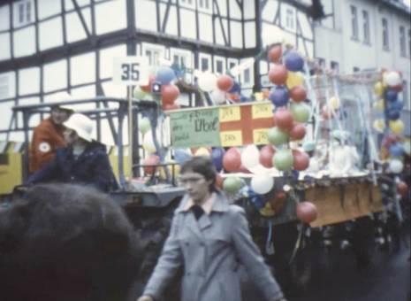 Bunter Karnevalszug