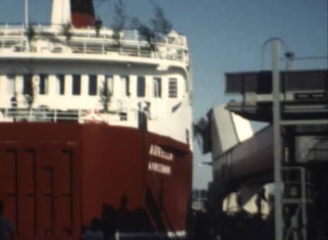 Schiff in den Norden