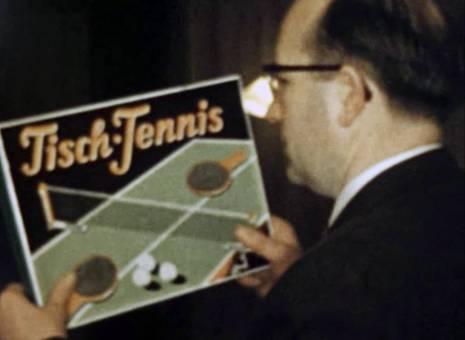 Tischtennis zu Weihnachten
