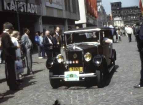 Oldtimershow in Trier