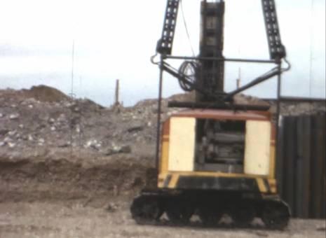 Bauarbeiten am Pionierhafen