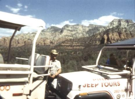 Flug über Nationalpark