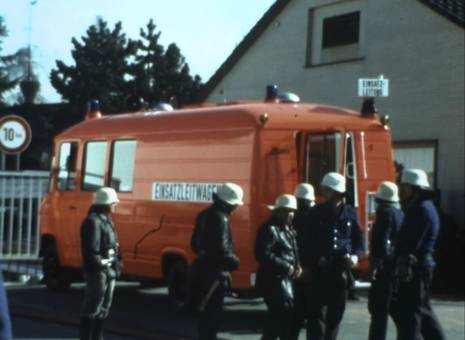 Grossbrand in Verl